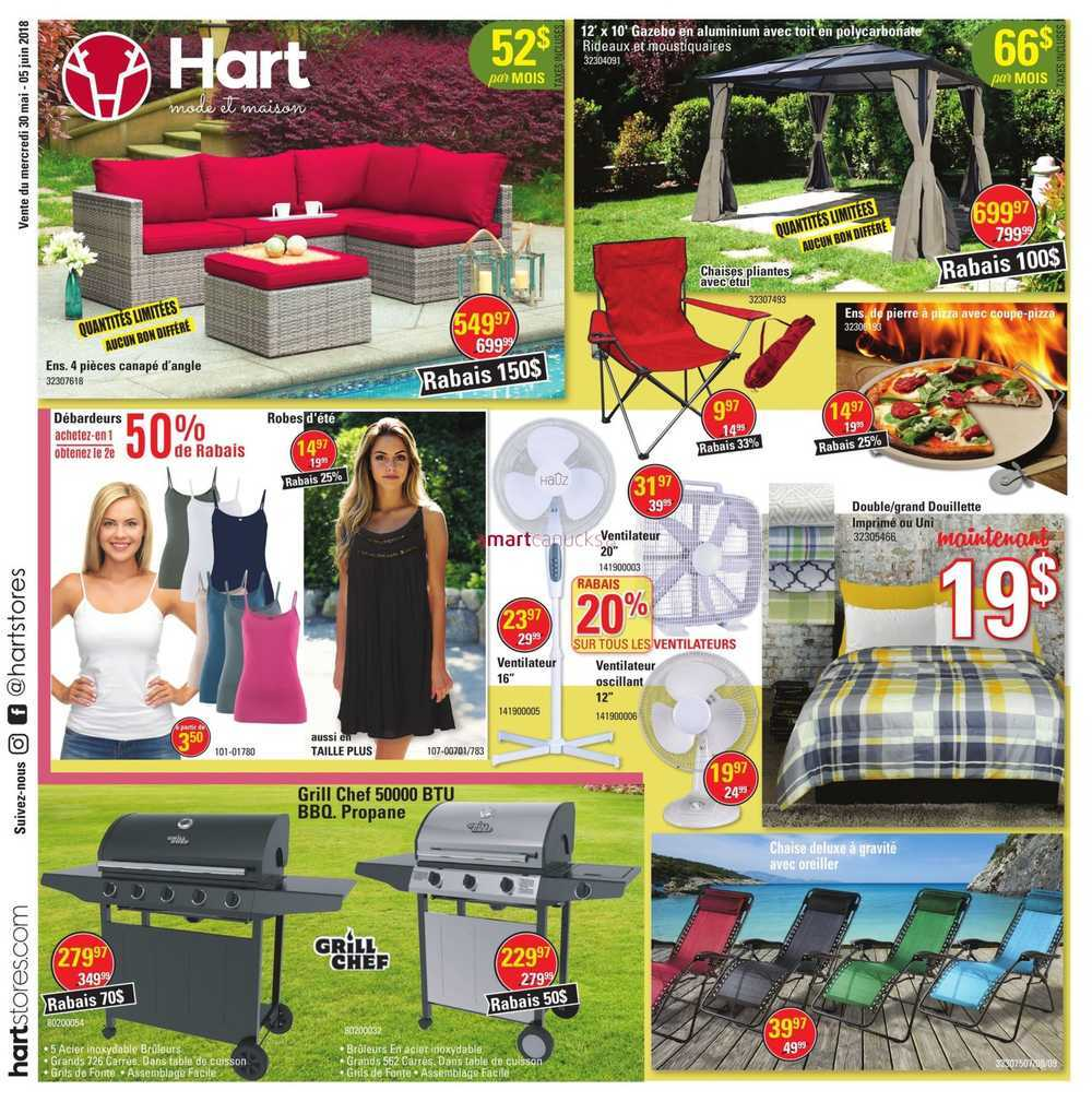 Store A Rabais Hart Stores Canada Flyers