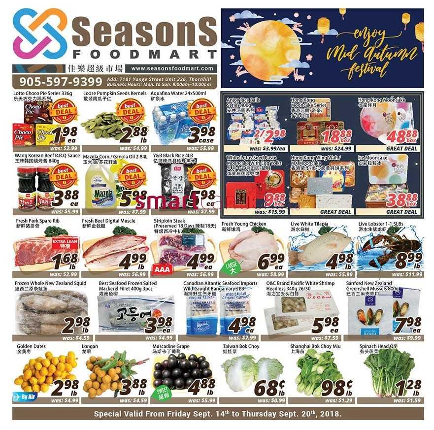 Seasons Food Mart Canada Flyers