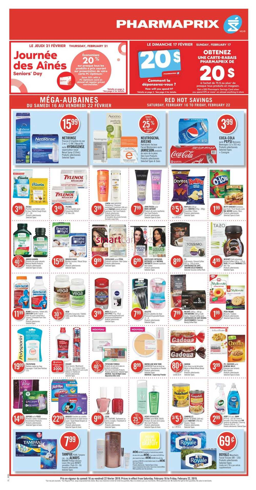 Store A Rabais In Store Deals Sales Shoppers Drug Mart Flyer Page 4
