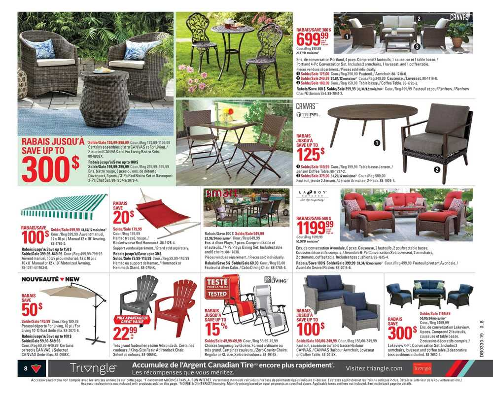 Pouf Exterieur Canadian Tire Canadian Tire Qc Flyer July 18 To 24
