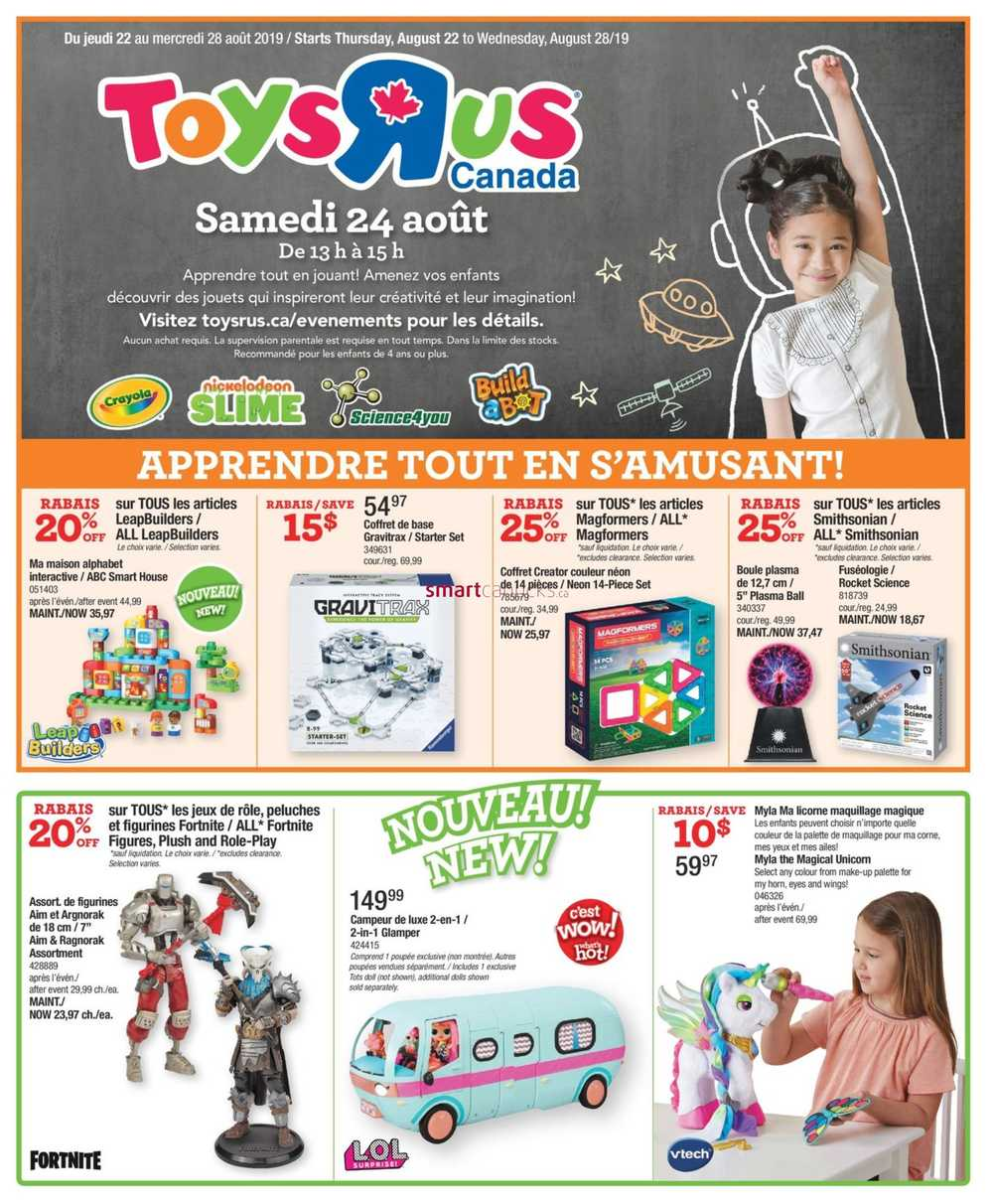 Babies R Us Pickering Toys R Us Canada Flyers