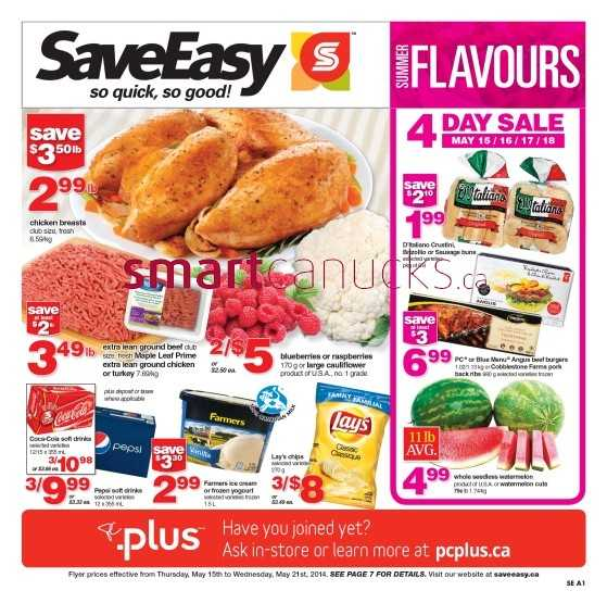 SaveEasy flyer May 15 to 21