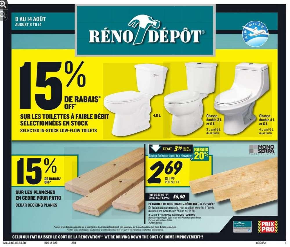 Porte Interieur Reno Depot | Reno Depot Weekly Flyer Weekly Canadian ...