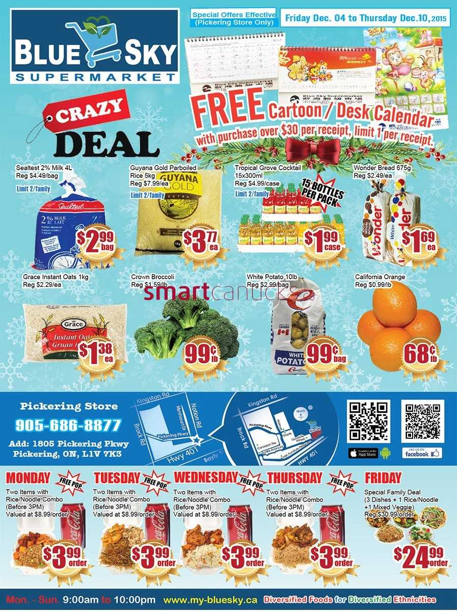 grocery flyers