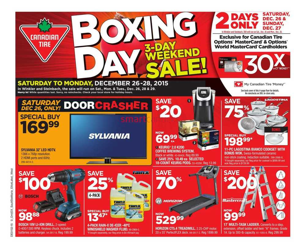 Canadian Tire Book Shelves Canadian Tire On Boxing Day Flyer December 26 To 31