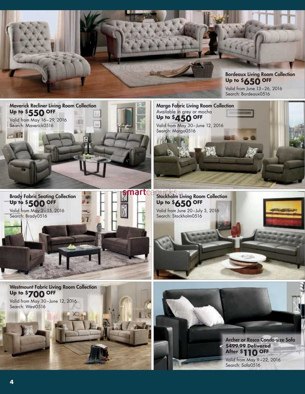 Costco Furniture Online Costco Online Catalogue May 1 To June 30