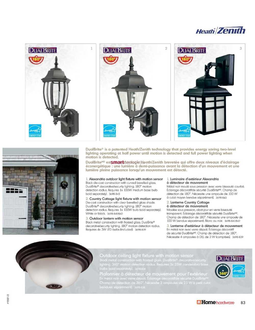 Eclairage Exterieur Home Depot Home Hardware Lighting Electrical Catalog