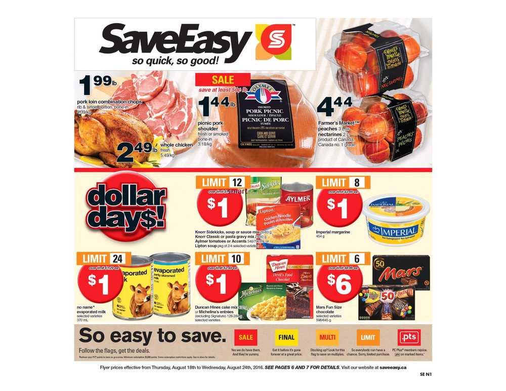 SaveEasy Canada Flyers