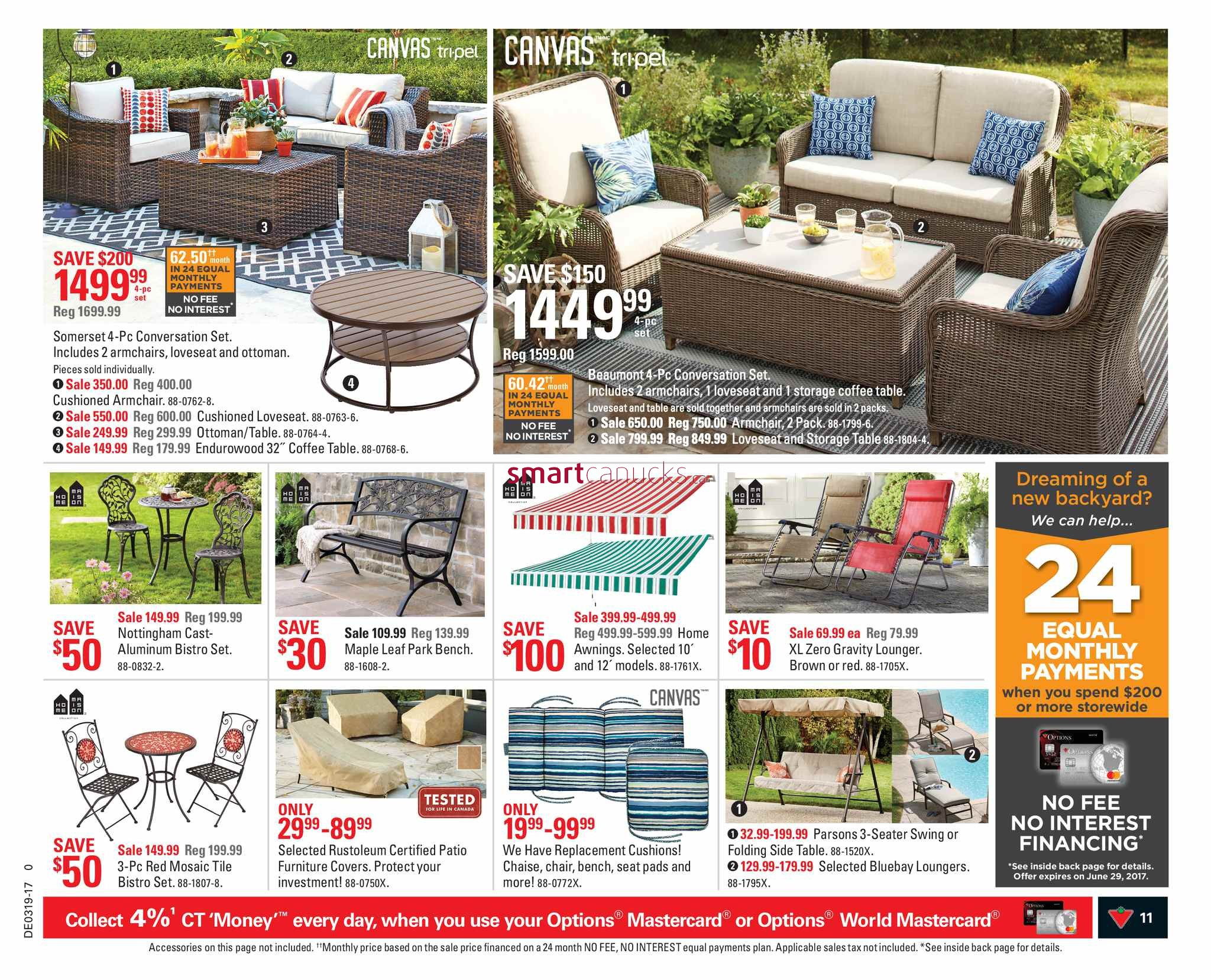 Folding Chairs Canadian Tire Canadian Tire On Flyer May 5 To 11
