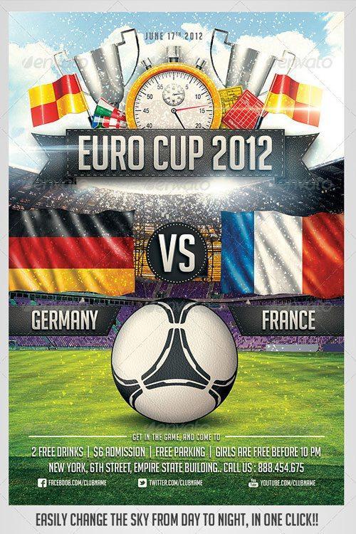 Top 10 Best Sport PSD Flyer Templates