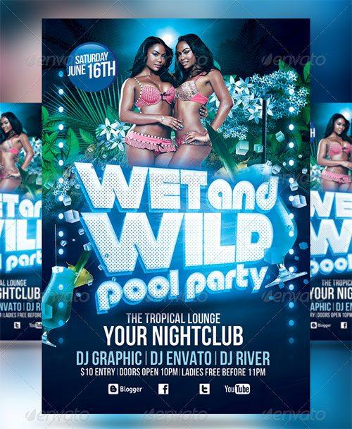 pool party flyer template - gerhard-leixl