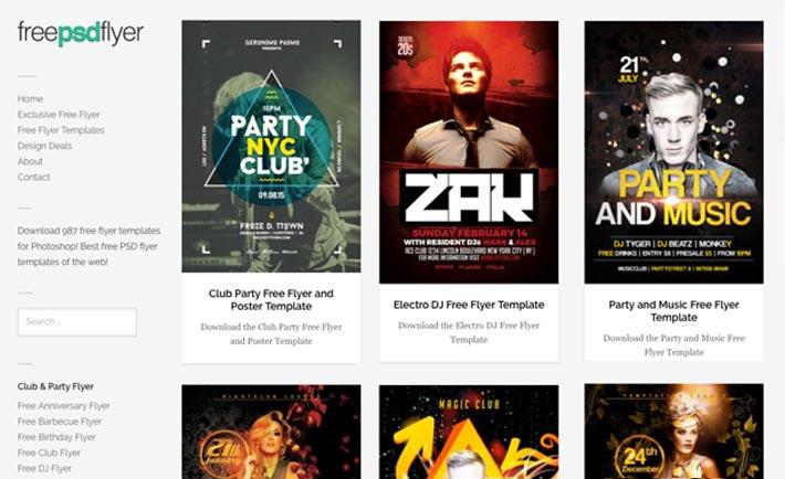 Download the best DJ Flyer Templates - Download DJ Flyer for Photoshop!