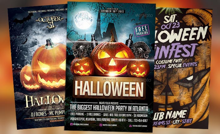 Fall Flyer Templates for Photoshop - Download PSD Flyer Templates