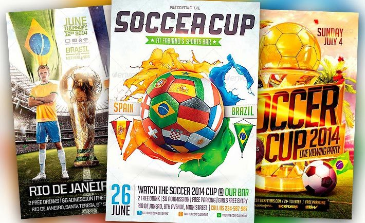 Sports Flyer Templates for Photoshop - Download best Sport Flyer Designs - free sports flyer templates