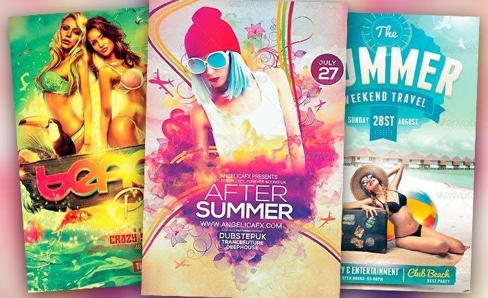 Best Summer Flyer Templates No1 - Download PSD Flyer for Photoshop - summer flyer template