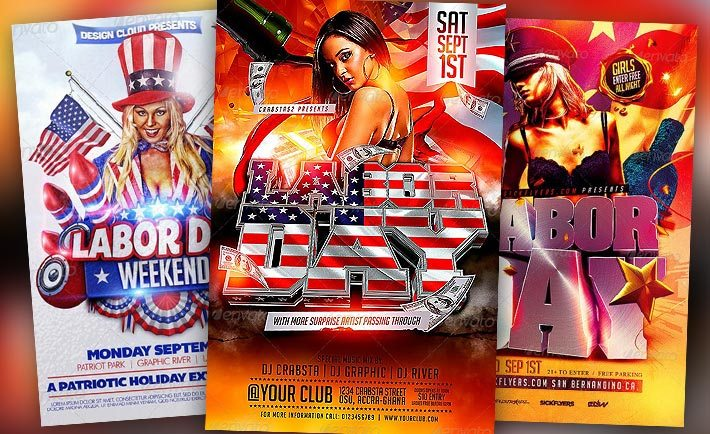Download the best Labor Day Flyer Templates - Download PSD Flyer!