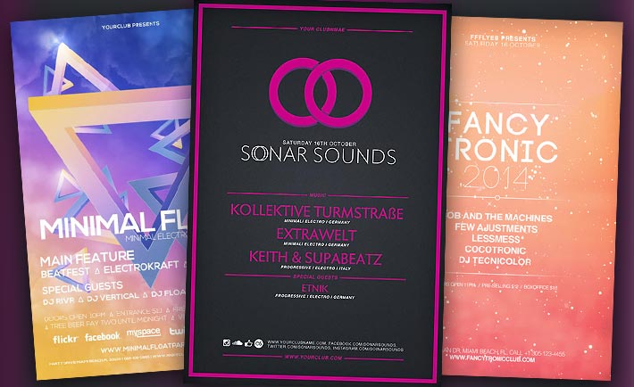 Best Free Flyer Templates No1 - Electro Flyer