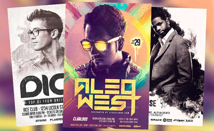 Download the best DJ Flyer Templates - Download DJ Flyer for Photoshop!