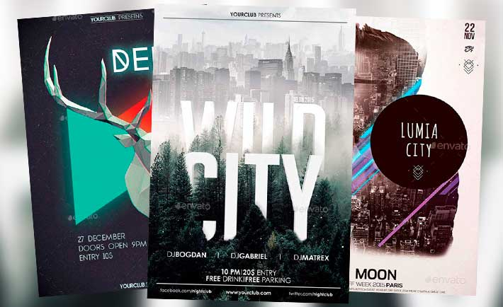 Best Electro Flyer Templates No2 - Download Electro Flyer - electro flyer