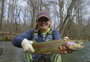 Cherokee Rainbow trout