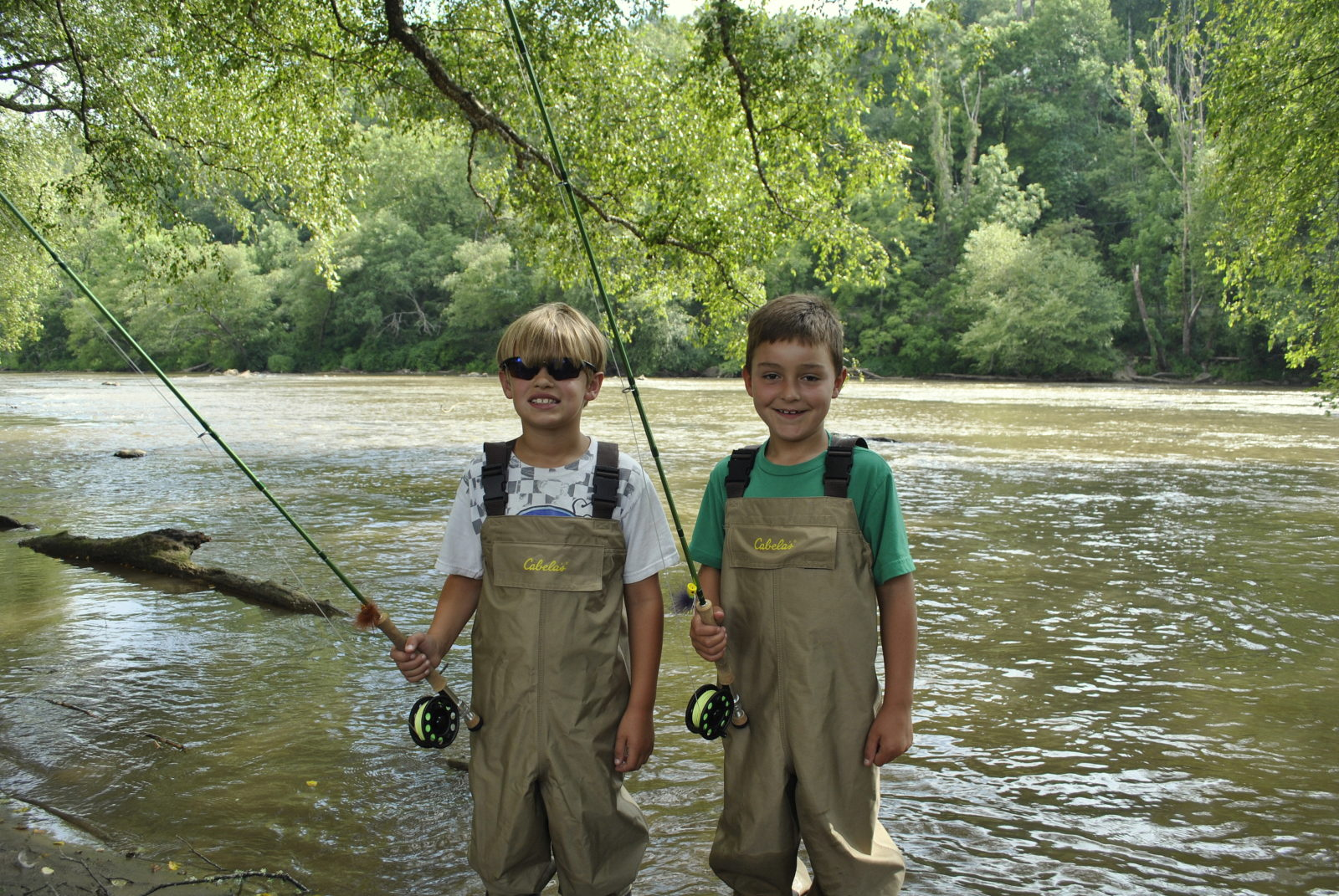 Fly fishing for kids for Kids fishing net