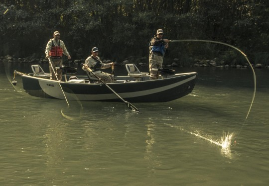 Float trip special guided drift boat fly fishing for trout for Drift boat fishing