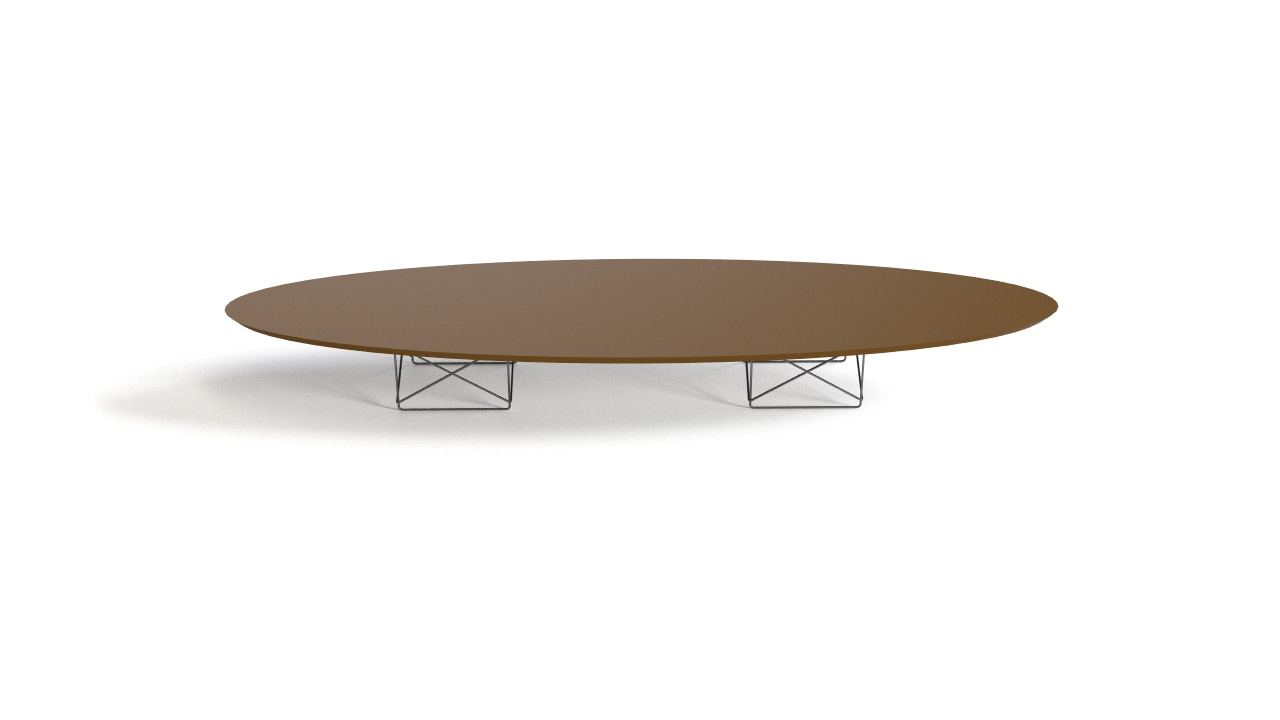 Eames Elliptical Table Etr 1951 Flyingarchitecture