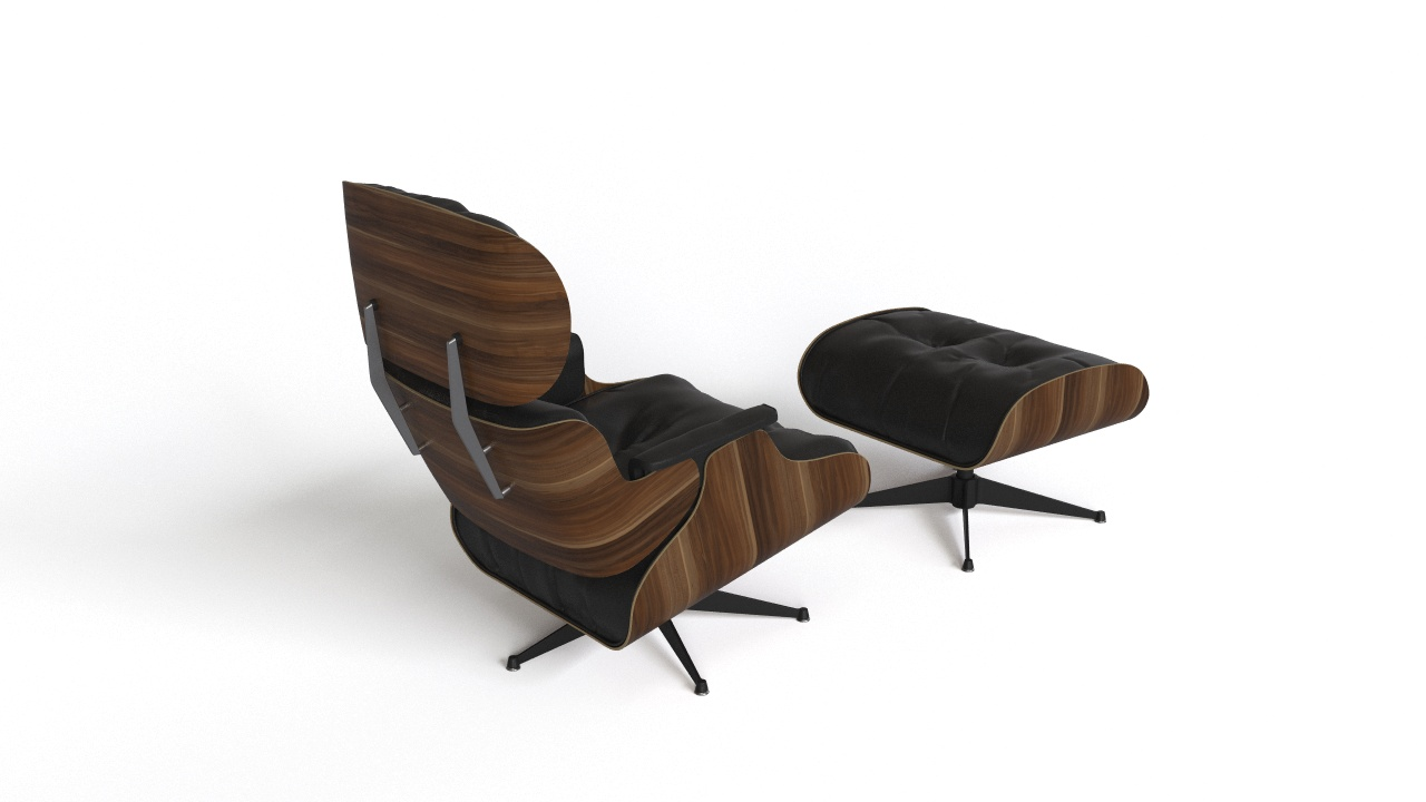 Eames Ottoman Eames Lounge Chair With Ottoman Flyingarchitecture