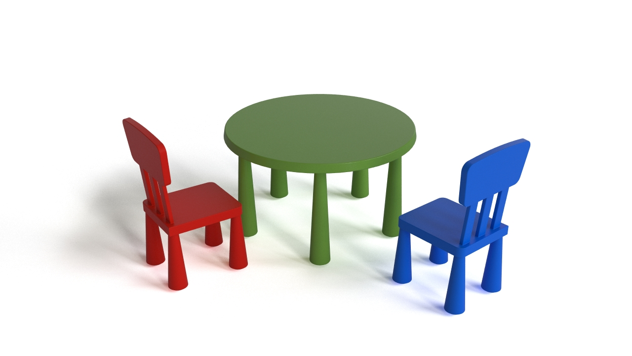 Ikea Glass Cups Ikea Mammut Table And Chair | Flyingarchitecture