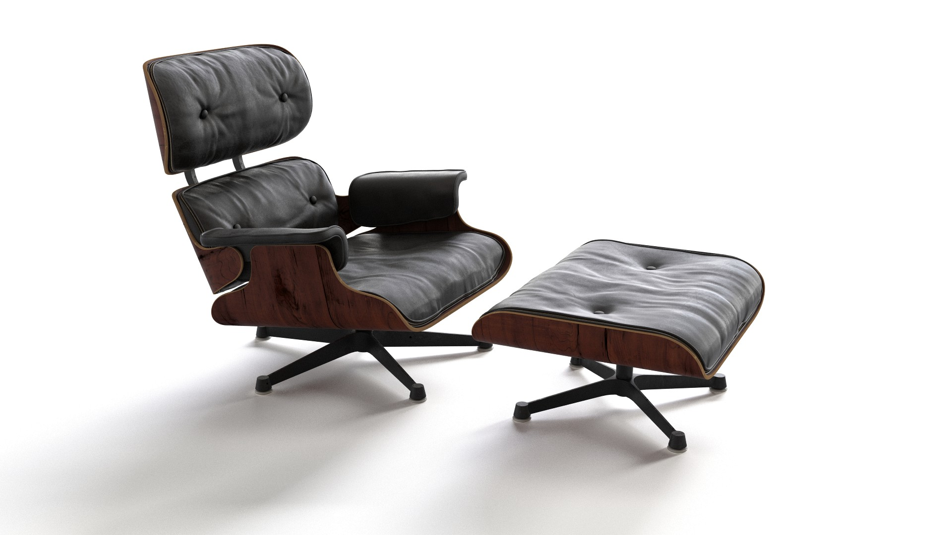 Original Eames Chair Eames Lounge Chair With Ottoman Flyingarchitecture