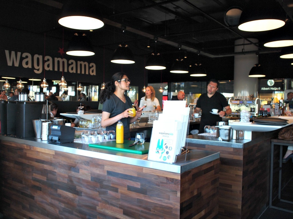 Keuken Amsterdam Centraal Wagamama Opent Op Amsterdam Centraal Flying Foodie Nl
