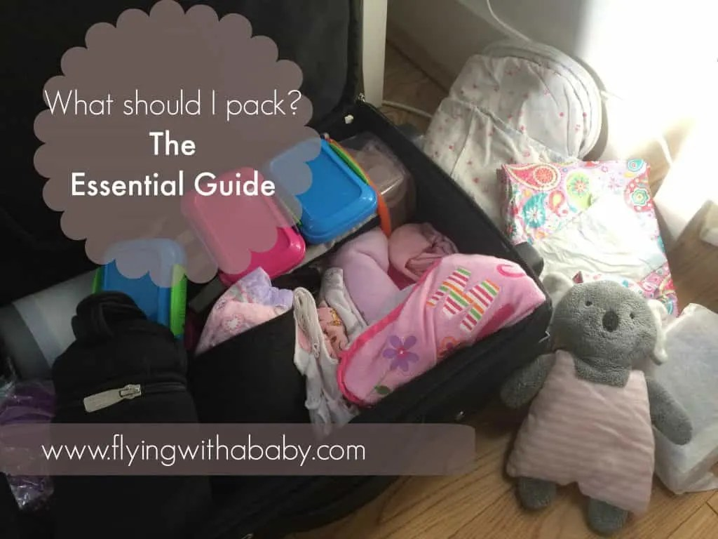 Baby Cot United Airlines Baby Travel Checklist The Essential Baby Packing List For