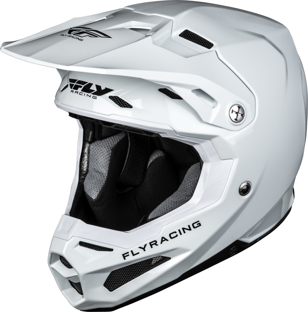 Motocross Garage Accessories Formula Carbon White Helmet Fly Racing Motocross Mtb Bmx
