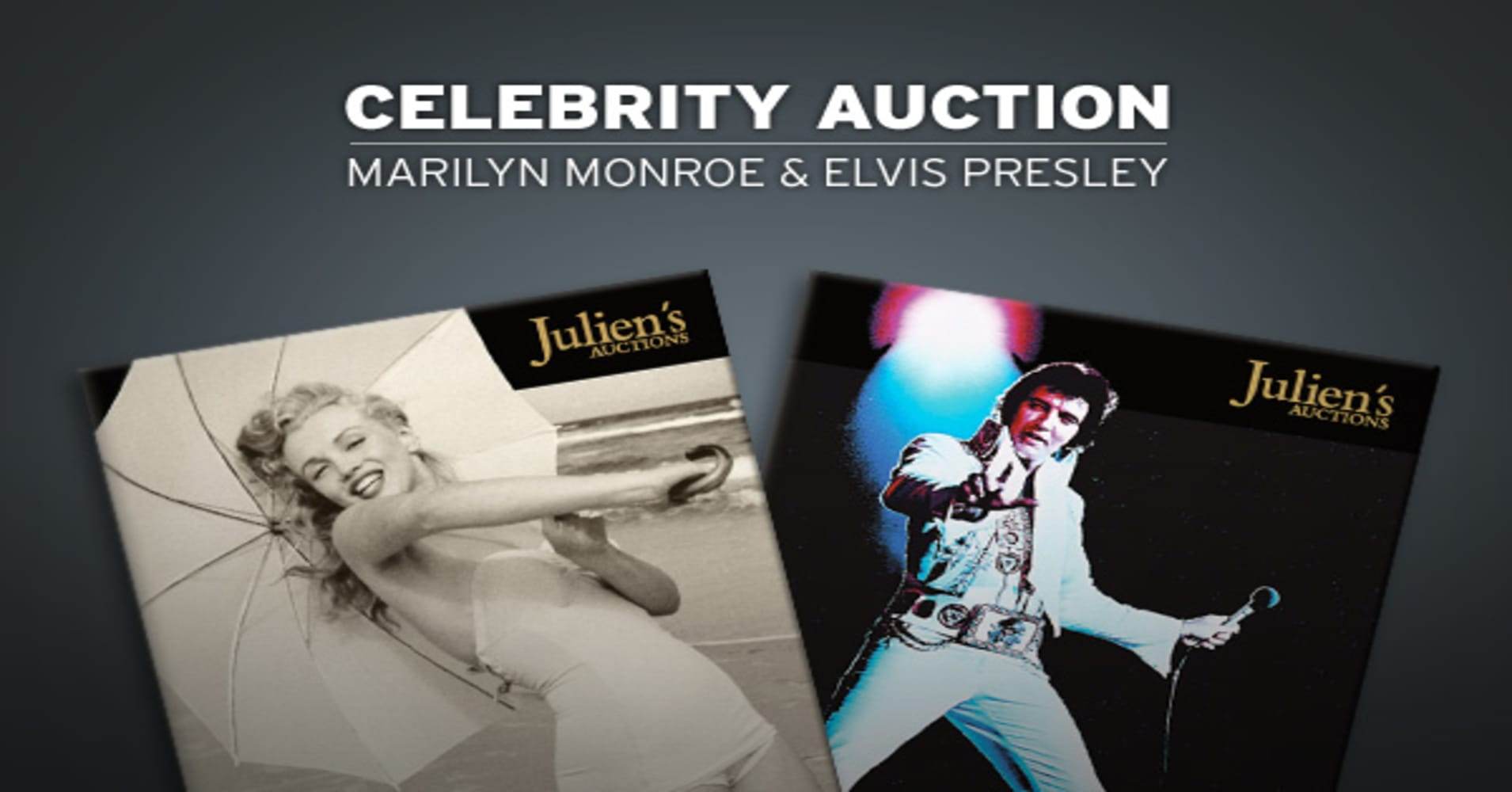 Elvis Marilyn Monroe Celebrity Auction Marilyn Monroe Elvis Presley