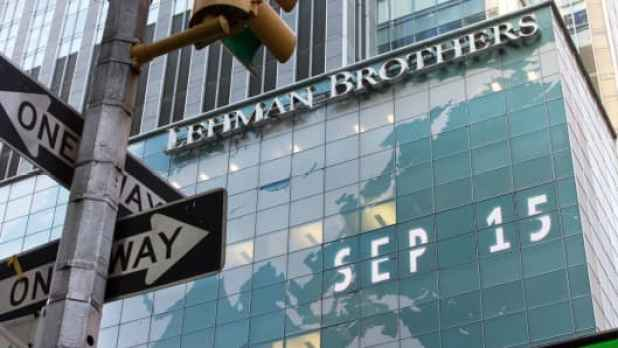 September 15, 2008, the day the 150-year-old Lehman Brothers declared bankruptcy.