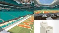 A 'living room' in an NFL stadiumyours for $75K