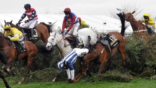 Grand National horse race Aintree