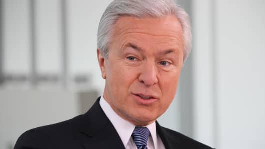 John Stumpf, chairman and CEO of Wells Fargo.