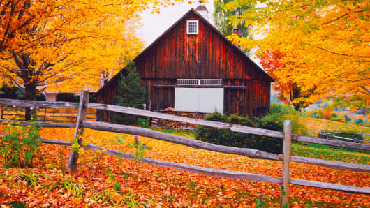 Vermont Fall Foliage Wallpaper Start Up Promises New England Foliage For 20