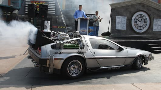 V Quotes Dmc Great Scott! Lyft Offering Free Delorean Rides In Nyc