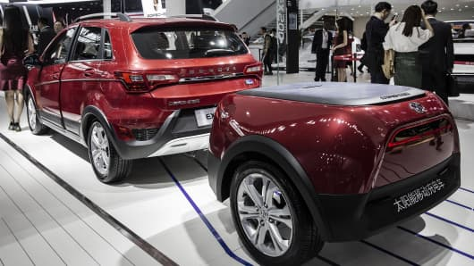 Electric Vehicle Manufacturers Market Share Suvs Dominate The 2016 Beijing Auto Show