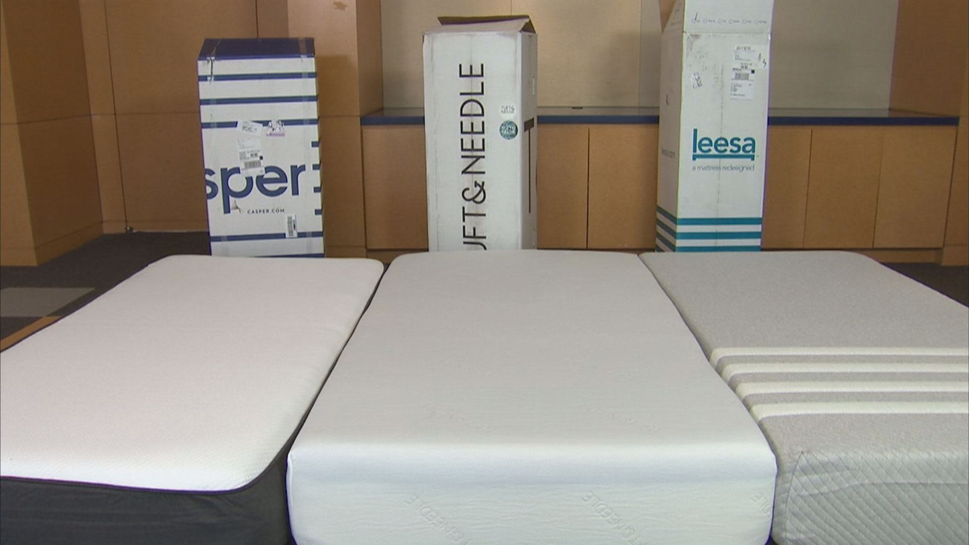 Casper Mattress Video We Bought Mattresses From 3 Different Companies Online And Here S