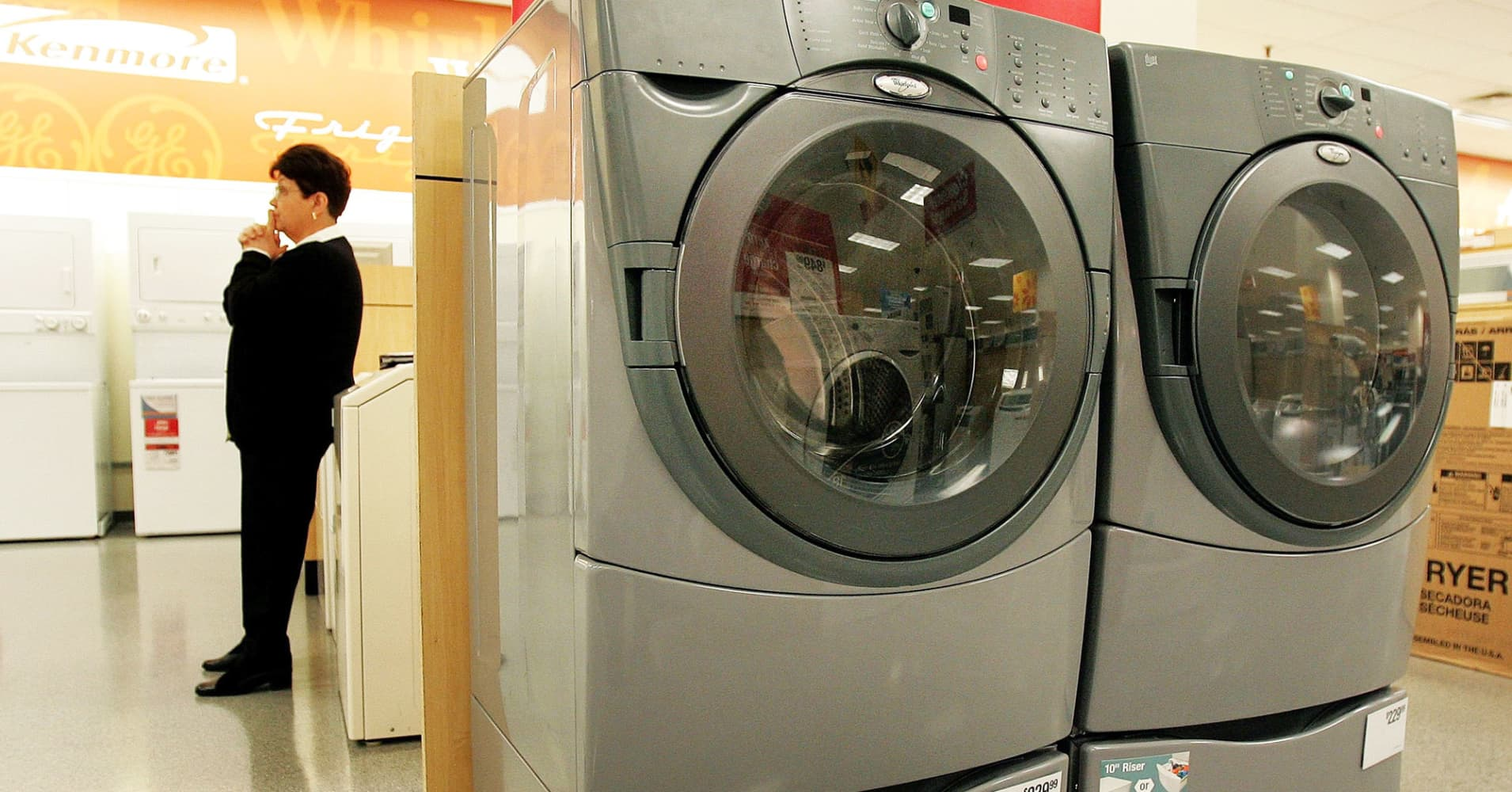 Sears Washer And Dryer Canada What Happens To That Kenmore Warranty With Sears In Bankruptcy Court