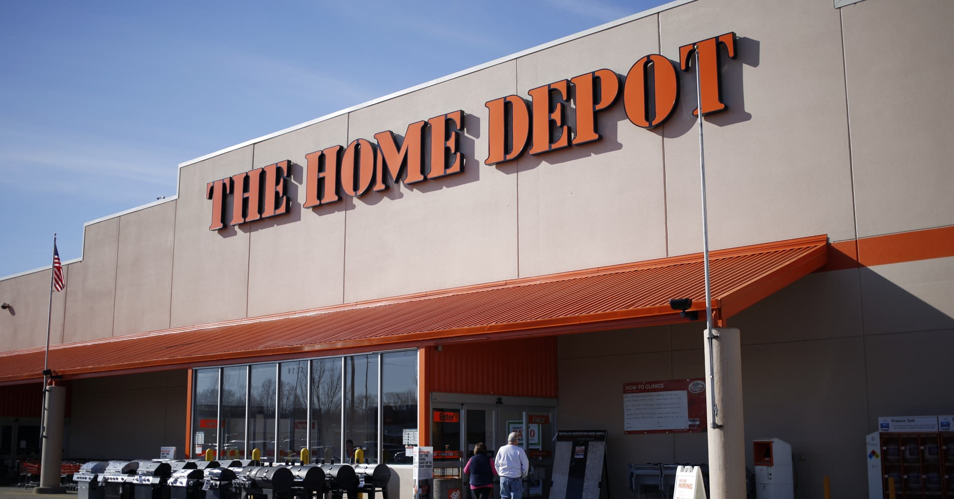 Bank St Home Depot Charts Point To Big Breakout For Home Depot Ahead Of Earnings Technician