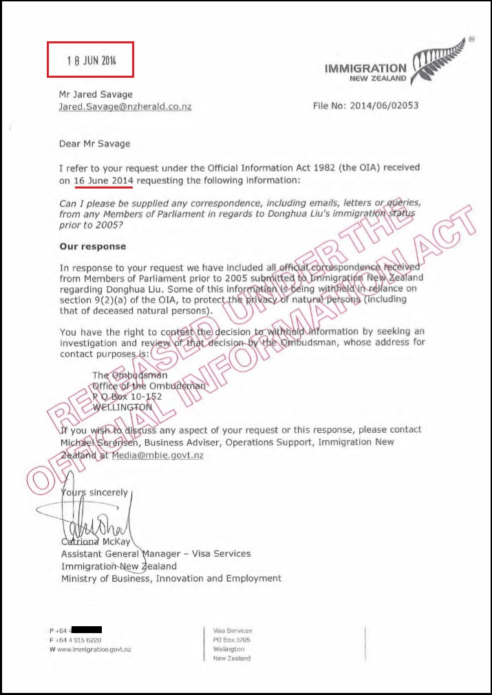 Reference Letter For New Zealand Visa Skilled Migrant Category Resident Visa New Zealand Visas Tova O'brien Frankly Speaking