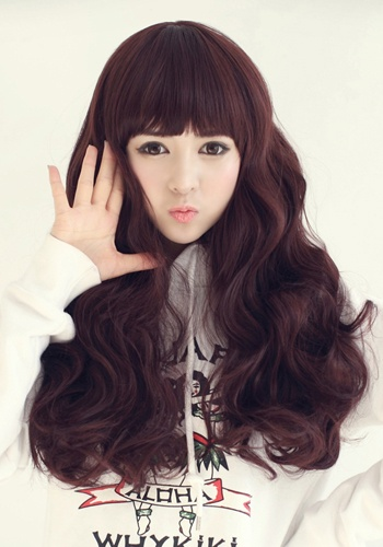 Fabulous The 5 Best Korean Hairstyles For Long Hair Fmag Com Hairstyle Inspiration Daily Dogsangcom
