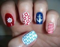 unique nail designs nautical nail art - fmag.com