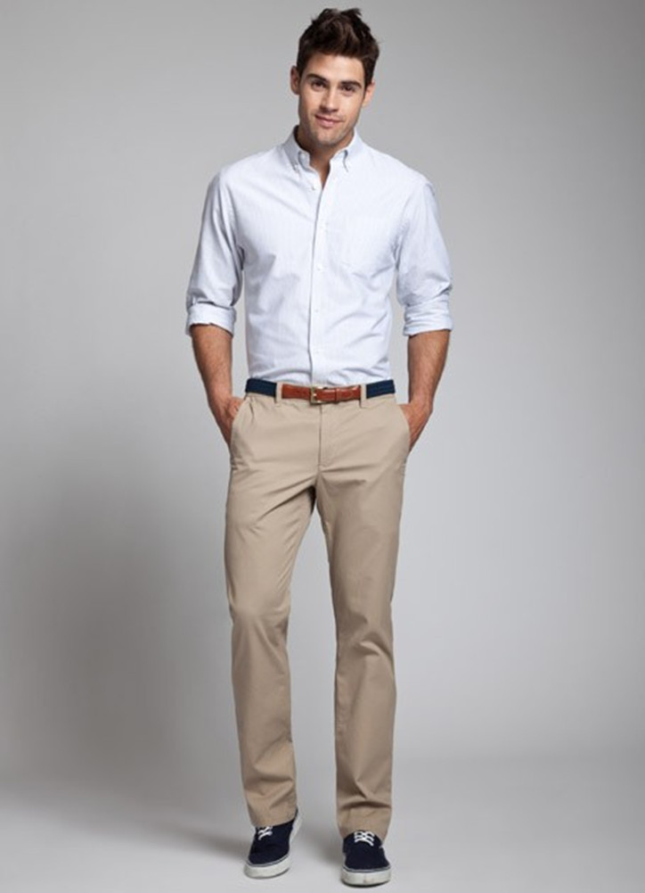 White Mens Oxford Shirt Images And Saddle Oxfords