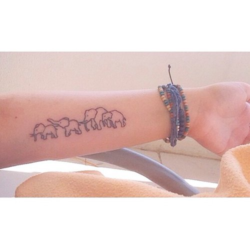 85 beautiful elephant tattoos and their meanings. Black Bedroom Furniture Sets. Home Design Ideas