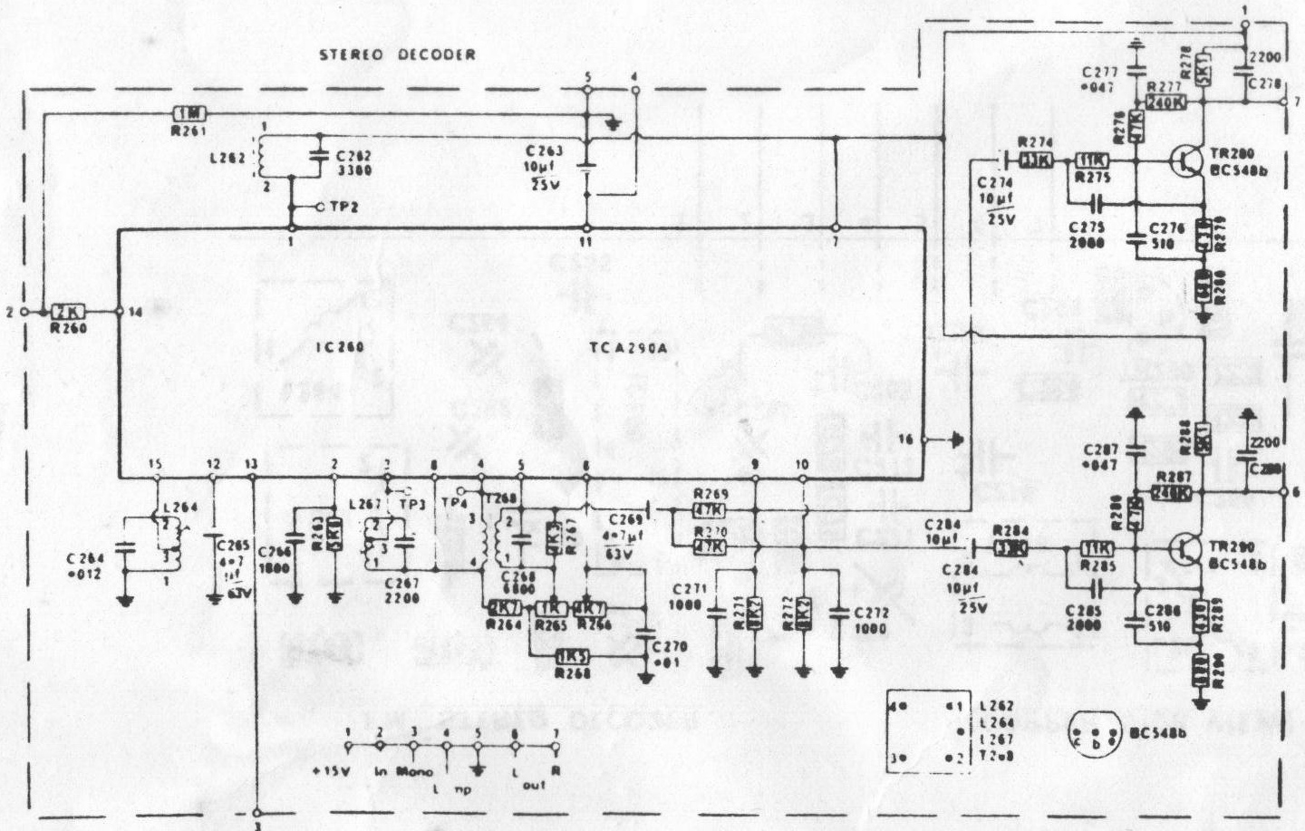 stereo decoder circuit auto electrical wiring diagramstereo decoder circuit